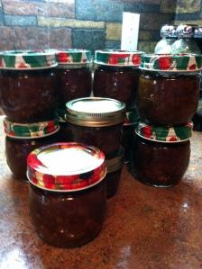 Elaine Cougler's Chutney Jars
