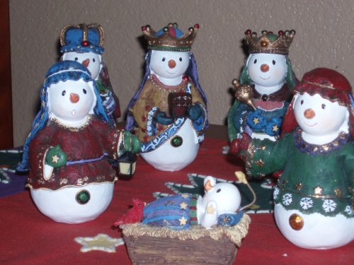 snowmen nativity