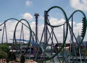 hulk roller coaster at universal studios florida