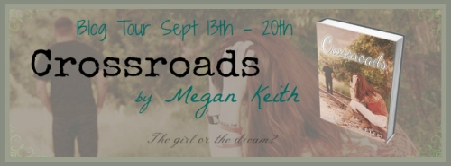 Crossroads Blog tour banner by Megan Keith