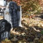 halloween toombstones