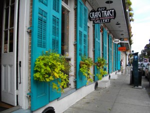 new orleans blue doors