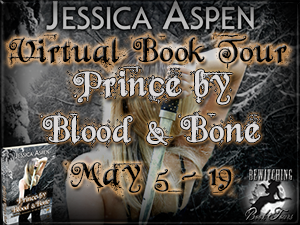 prince by blood and bone book tour button