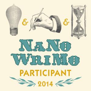 NaNoWriMo PARTICIPANT 2014 graphic