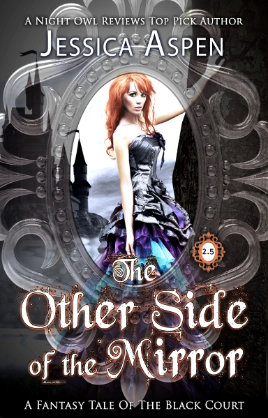 The Other Side of the Mirror, cover art by Viola Estrella
