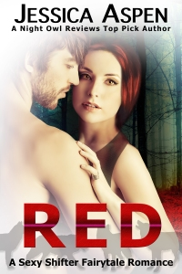 red by jessica aspen, a haunted holidays novel