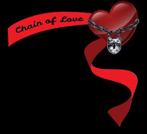 Chain of Love banner logo