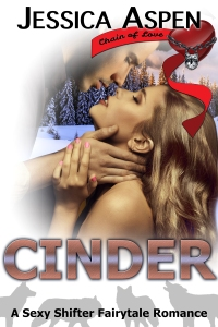 cinder: a sexy shifter fantasy romance by jessica aspen