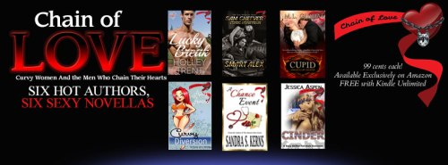 chain of love book, curvy women and the men who chain their hearts
