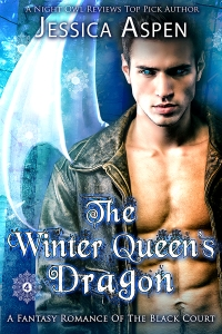 the winter queen's dragon a fantasy romance by jessica aspen